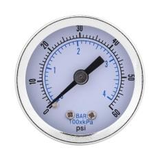 0-60psi 0-4bar 1/8 Bspt Tekanan Gauge Manometer Untuk Udara Air Minyak Instrumen Panggil-Internasional By Duoqiao.