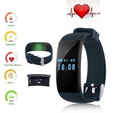 0.66 OLED Bluetooth Smart Watch DF30 GSM Denyut Jantung Smartwatch Gelang Tahan Air untuk Android dan IPhone Grosir (Hitam, Hijau, Ungu, Biru) -Intl