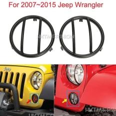 Spesifikasi 07 15 Black Turn Signal Grille Mounted Light Cover For Jeep Wrangler Black Intl Oem