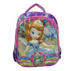 [0930010214] Sofia The First Tas Sekolah Backpack Anak Playgrup