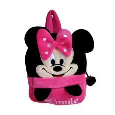 Jual 0930010535 2 Backpack Minnie Mouse Tas Sekolah Anak Pink Black Grosir