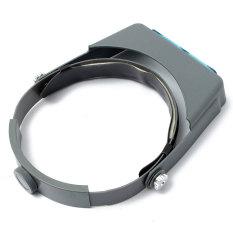 Beli 1 0X1 5X2 0X2 5X3 5 X Bando Kaca Pembesar Lup Pembesar 4 Lensa Abu Abu Kredit Tiongkok