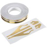 Promo 1 2 Cm Tandai Garis Rekaman Vinyl Decals Stiker 12Mm Untuk Review Mobil Sepeda Motor Emas Intl Hong Kong Sar Tiongkok