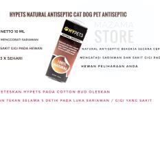 1 buah HYPETS 100% Natural Antiseptic Netto 10 ml / Obat Sakit Gigi Untuk Hewan Peliharaan / Obat Sariawan Untuk Kucing Anjing / Obat Sakit Gigi Untuk Hewan Peliharaan / Obat Sakit Gigi Untuk Kucing Anjing / Natural Antiseptic For Cat Dog All Animal