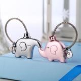1 Pasangan Gajah Bentuk Gantungan Kunci Minions Shape Keychain Hadiah Untuk Teman Intl Tiongkok Diskon