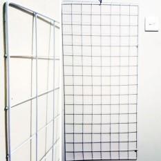 1 Display Kawat Ram 95 x 45 cm - Perlengkapan Toko Murah untuk Alat Pajang Display Aksesoris Fashion Gelang Kalung Konter Hp