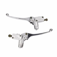 1 Pair Motorcycle Hydraulic Brake Master Cylinder Clutch Lever Right Left Hand - intl
