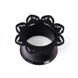 Promo 1 Pair Baru Hitam Kuningan Tunnel Ear Plug Hanya Hiasan Tembaga Piercing Perhiasan Telinga Intl Di Tiongkok