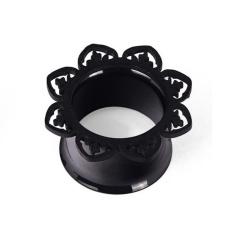 Harga 1 Pair Baru Hitam Kuningan Tunnel Ear Plug Hanya Hiasan Tembaga Piercing Perhiasan Telinga Intl Seken