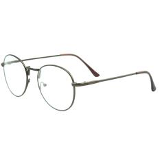 Jual 1 Pasang Mata Dari Unisex Lingkaran Bingkai Logam Bundar Tipis Bening Polos Kacamata Bingkai Kacamata Lensa Dekoratif Kopi Internasional Vococal Branded