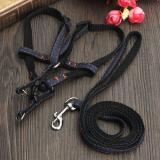 Harga 1 Pet Anak Anjing Dada Tali Pengikat Belakang Sabuk Pengekangan Menyebabkan Baju Zirah Rantai Fullset Murah
