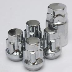 1 Set Kunci Alloy Wheel Kacang Anti Pencurian Baut Dengan Key 60 ° Derajat Taped 12X1 5Mm Diskon Akhir Tahun
