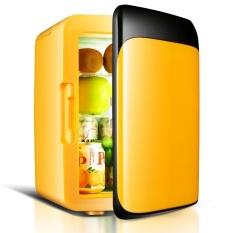 10 L Mobil Kulkas 220 V/12 V Mini Kulkas Freezer Mobil/HomeDual Digunakan Kecil Pendingin Dingin Kotak Warmer Box (Hitam) -Intl