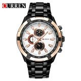 Harga 100 Asli Curren 8023 Mens Watches Top Brand Luxury Men Wrist Watches Full Steel Pria Olahraga Watch Tahan Air Origin