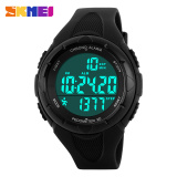 Spesifikasi Wanita S Sports Watches Wanita Militer Pedometer Led Digital Jam Tangan Fashion Kasual Tahan Air Skmei Jam Tangan 1108 Skmei Terbaik