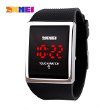 Beli 100 Asli Skmei Sport Women Watches Fashion Layar Sentuh Jam Tangan Led Waterproof Casual Digital Watch Student Elektronik Jam Tangan Pakai Kartu Kredit