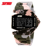 Beli 100 Genuine Skmei Airplane Shaped Kids Sports Watch 5Atm Waterproof Led Colorful Light Children Digital Watch Children Wrist Watches Cicilan