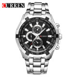 Beli 100 Asli Curren 8023 Mens Watches Top Brand Luxury Men Wrist Watches Full Steel Pria Olahraga Watch Tahan Air Intl Cicil