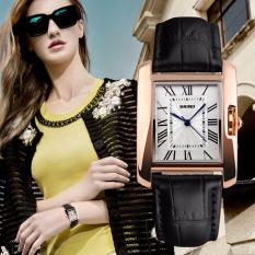 [100% Genuine]SKMEI Brand Luxury Retro Women's Casual Watches Waterproof Quartz Watch Women Fashion Dress Wristwatch