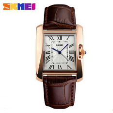 [100% Asli]SKMEI Brand Luxury Retro Women Jam Tangan Casual Wanita Anti air dan Fashionable