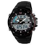 Beli 100 Genuine Skmei Merek Pria Olahraga Watches Dual Display Digital Analog Quartz Led Jam Tangan Tali Karet Swim Tahan Terhadap Udara Creative Watch Skmei Dengan Harga Terjangkau
