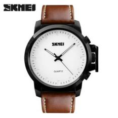 Harga 100 Genuine Skmei Baru Merek Fashion Pria Jam Tangan Pria Sport Jam Kuarsa Man Leather Strap Militer Army Tahan Air Wrist Watch Satu Set