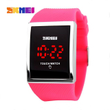 Spesifikasi 100 Genuine Skmei Sport Women Watches Fashion Touch Screen Led Wristwatches Waterproof Casual Digital Watch Student Electronics Watches Paling Bagus
