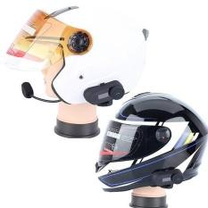 1000 M Bluetooth Helm Sepeda Motor Inter Phone FM Radio Intercom Headset-Intl