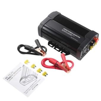 Harga Penawaran 1000 W Mobil Inverter Sumber Daya Listrik Adaptor DC 12 V Ke AC 110