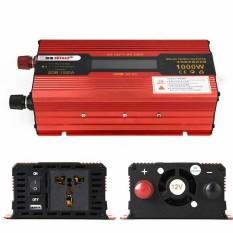 1000W DC 12V to AC 220V Modified Pure Sine Wave Power Inverter Household LED - intl