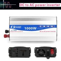 1000 W Sine Wave DC 12 V Ke AC 220 V Inverter Daya Mobil Transmitter Charger-Intl