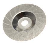 Jual 100Mm 4 Inci Dilapisi Berlian Grinding Polishing Grind Disc Rotary Wheel Pasir Internasional Oem