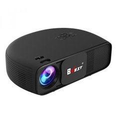 1080P HD LED Projector, BNEST Mini Movie 3200 Lumens Projector Full HD Home Theater with 1080P HDMI USB SD Card for Home TV Laptop Entertainment Games Party (Black) - intl