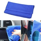Harga Termurah 10Pcs 30Cmx30Cm Soft Absorbent Wash Cloth Car Auto Care Microfiber Cleaning Towels Blue Intl