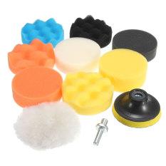 Jual 10 Buah 3 Inci 80Mm Bantalan Buffing Pad Poles Kit Untuk Pemoles Mobil M14 Benang Internasional Oem Branded