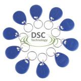 10 Pcs Keyfobs Keychain Untuk Id Pembaca Menggunakan 125 Khz Rfid Proximity Id Card Access Control Biru Tiongkok