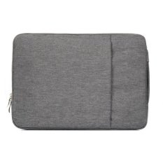 Tips Beli 11 6 Inci Universal Fashion Lembut Laptop Denim Casing Portable Notebook Laptop Case Kantong Resleting For Mac Book Air Lenovo And Laptop Lainnya Ukuran 32 2X21 8X2 Cm Abu Abu