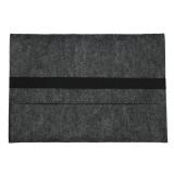 Jual 11Inch Felt Laptop Sleeve Case Protect Cover Bag For Apple Macbook Pro Air Retina Dark Gray Antik