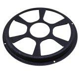 12 Inch Black Car Audio Speaker Cover Subwoofer Grill Protector Untuk Otomatis Internasional Tiongkok