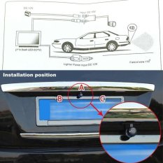 12 V 170 ° Mini Warna CCD Mobil Bekas Dengar Depan Rear View Kamera Night Vision-Internasional