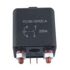 Diskon 12 V 200A Relay 4 Pin Car Auto Heavy Duty Dipasang Gaya Split Chargeover Branded