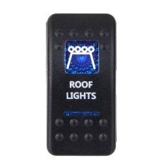 12 V 20 Amp Goatur Saklar Lampu Atap Biru Lampu LED Mobil Perahu Penjualan 5 Pin