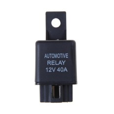 12 V 40A Mobil Automotive Relay 4 Jarum SPST Relay Alarm dengan Relay Soket-Internasional