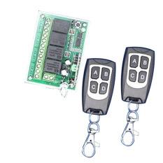 Toko 12 V 4Ch 200 M Estafet Remote Nirkabel Mengendalikan Saklar 2 Pemancar Dengan 1 Receiver Intl Terlengkap Di Hong Kong Sar Tiongkok