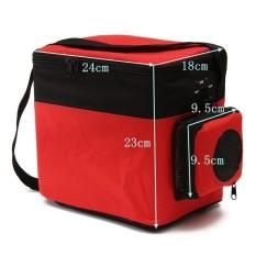 12 V 6L Pendinginan dan Pemanasan Mini Kulkas Nevera Portabel Geladeira Portatil Lemari Pendingin Mobil Otomatis untuk Truk Cooler Kotak Pembeku -Internasional