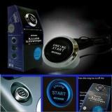 Beli 12V Car Engine Start Push Button Switch Ignition Starter Kit Blue Led Intl Baru