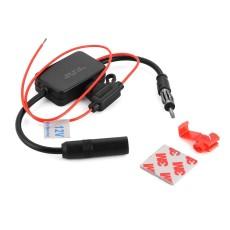 12 V Mobil Truk Stereo Antena FM Radio Inline Sinyal Amplifier Booster-Intl