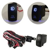 Toko 12 V Led Fog Light Laser Rocker On Off Switch Wiring Harness 40A Relay Fuse Blue Intl Terlengkap Di Indonesia
