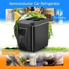 12v Mini Car Freezer Cooler Warmer 6L Electric Fridge (Black) - intl