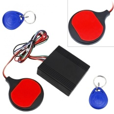 12 V Motor ID Kartu Sensing Tersembunyi Lock Anti-Theft Device Intelligent IC Kartu Swiping Sensing LOCK untuk Sepeda Motor Scooter-Intl